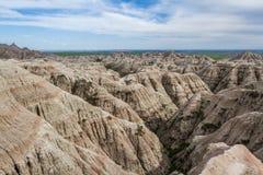 Badlands, Dakota del Sur fotografía de archivo libre de regalías