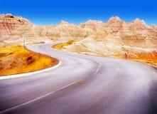 badlands Dakota park narodowy południe Zdjęcia Royalty Free