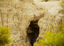 badlands Dakota park narodowy południe usa obraz stock