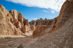 badlands dakota södra USA arkivfoton