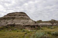 Badlands de Alberta Fotos de archivo libres de regalías