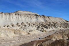 Badlands/de Vallei/Californië van de Dood Stock Foto