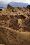 Badlands Death Valley foto de archivo