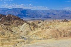 Badlands, Death Valley Royalty Free Stock Photo