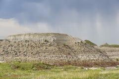 Badlands in Dinosaur Provincial Park Stock Photography