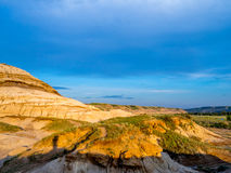 Badlands, Drumheller Stock Photos