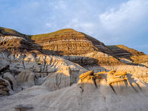 Badlands, Drumheller Royalty Free Stock Photography