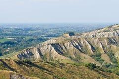 Badlands. Emilia-Romagna. Italy. Royalty Free Stock Image