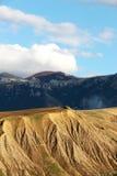 Badlands en geologische formaties, Sicilië Stock Afbeelding