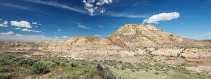 Badlands en Montana Imagenes de archivo