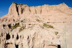 Badlands Escarpment Stock Photography