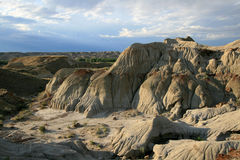 Badlands Evening Landscape Royalty Free Stock Photo