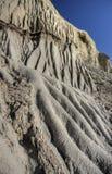 Badlands fangosos grandes de Saskatchewan Fotos de archivo libres de regalías