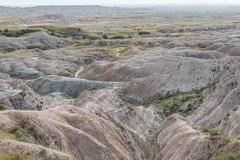 Badlands Features Royalty Free Stock Photos