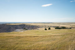 Badlands Flats Royalty Free Stock Images