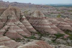 Badlands formacje Fotografia Stock