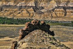 Badlands Formation Royalty Free Stock Photos