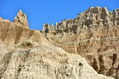 Badlands Formations Stock Images