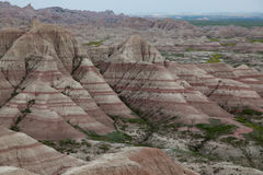 Badlands Formations Stock Photography