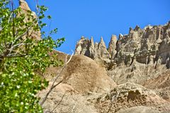 Badlands Formations Royalty Free Stock Photos