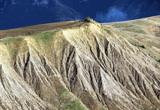 Badlands and geological formations, sicily Stock Photo