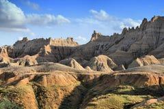 Badlands Geschilderde Heuvels Royalty-vrije Stock Foto's
