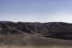 Badlands in het Nationale Park van de Doodsvallei Royalty-vrije Stock Afbeeldingen