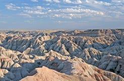 badlands kanionie park narodowy zdjęcia royalty free