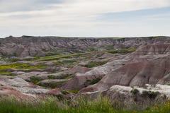 Badlands Krajobraz obrazy stock