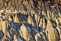 Badlands landscape royalty free stock image