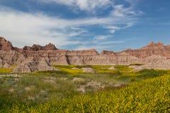 Badlands Landscape Stock Photography