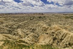 Badlands Landscape Royalty Free Stock Photo