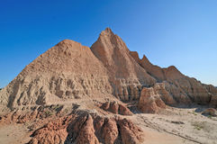 Badlands in the morning Stock Images