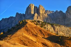 Badlands, Mountainous Landforms, Mountain, Rock Stock Photo