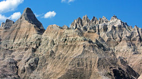 Badlands Nat. Park. Royalty Free Stock Images