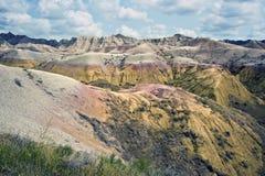 Badlands National Park. Royalty Free Stock Photos