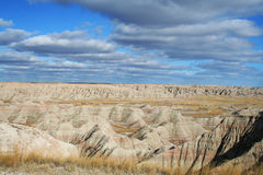 Badlands National Park. Abstract of moutain view at Badlands national park in South Dakota Royalty Free Stock Photo