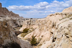 Badlands National Park. Rock formations in Badlands National Park in western South Dakota Stock Images