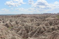 Badlands National Park Royalty Free Stock Photos