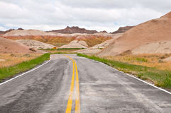 Badlands National Park Royalty Free Stock Photo