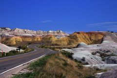 Badlands National Park Stock Image