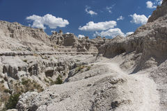 Badlands National Park - Notch Trail Stock Image