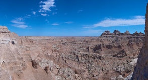 Badlands National Park Panorama Stock Photo