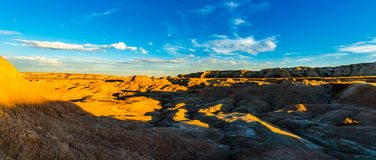 Badlands National Park Panorama Stock Images