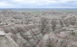 Badlands National Park. Scenic of rock formations in Badlands National Park, South Dakota Stock Photography