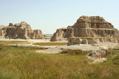 Badlands National Park, South Dakota Stock Photo