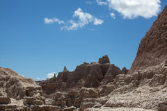 The Badlands Royalty Free Stock Photos