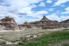 Badlands. National park in south dakota royalty free stock photo