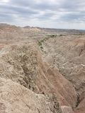 Badlands National Park royalty free stock images
