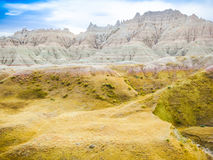 Badlands National Park, South Dakota, United States Stock Photos
